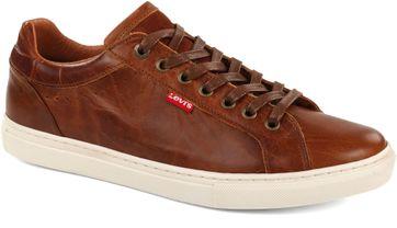 Levi\'s Sneaker Perris Derby Brown
