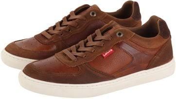 Levi\'s Sneaker Perris Oxford Braun