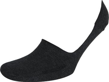 Levi's Sneaker Socken 2-Pack Schwarz Dunkelgrau
