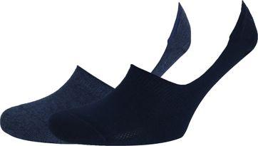 Levi's Sneaker Socks 2-Pack Dark Blue