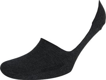 Levi's Sneakersok 2-Pack Zwart Antraciet