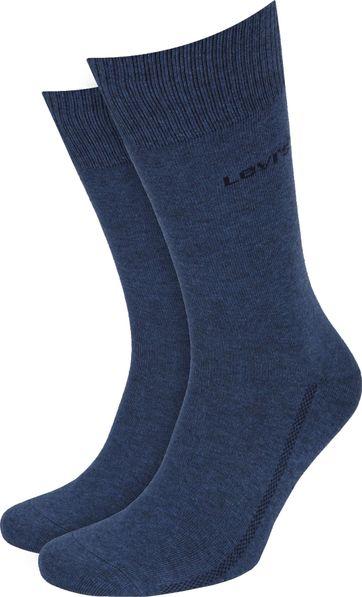 Levi's Socken 2-Pack Blau 460