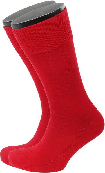 Levi's Socken Baumwolle 2-Pack Rot 168SF