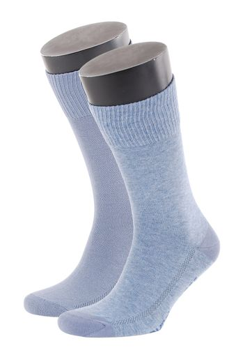 Levi\'s Socks Cotton 2-Pack Light Blue 827