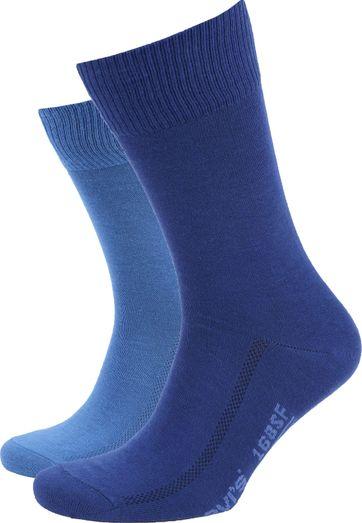 Levi's Sokken 2-Pack Blauw