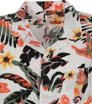Levi's SS Overhemd Cubano Paradise Multicolour