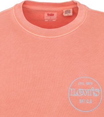 Levi's Sweater Graphic Logo Roze