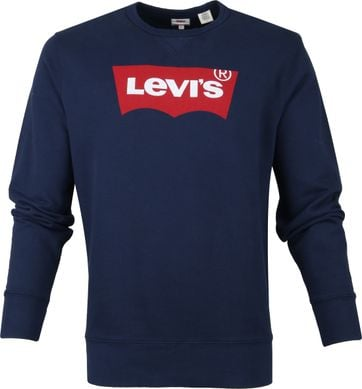 Levi's Sweater Graphic Navy
