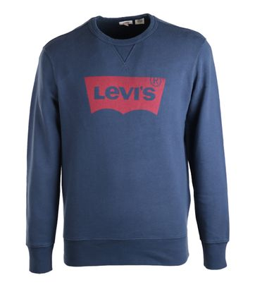 Levi\'s Sweater Navy Print
