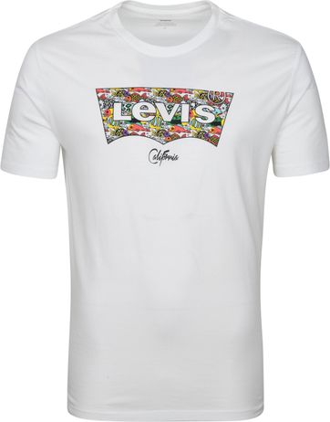 Levi's T-Shirt Graphic Logo Weiß