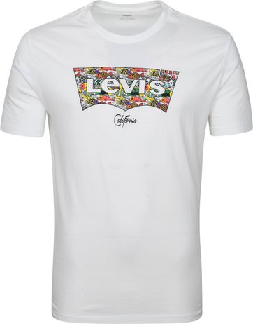 Levi's T-Shirt Graphic Logo Wit