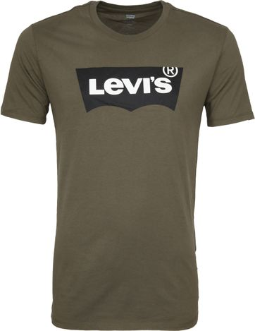Levi's T-shirt Green Logo