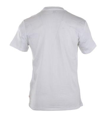 Detail Levi\'s T-shirt Logo Wit