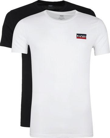 scarpe sportive 4c032 7542c Levi's T-shirt O-Neck 2Pack 79681-0000 order online | Suitable