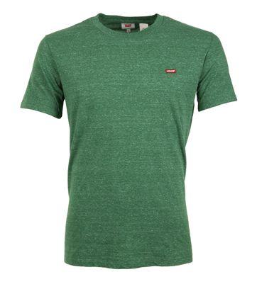 Levi\'s T-shirt Original Groen