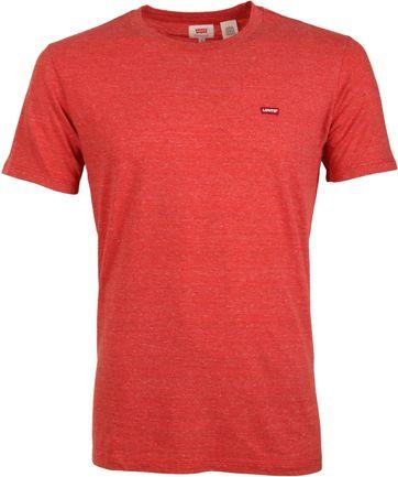 Levi\'s T-shirt Original Rood