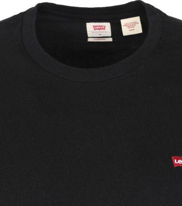Levi's T-shirt Original Zwart
