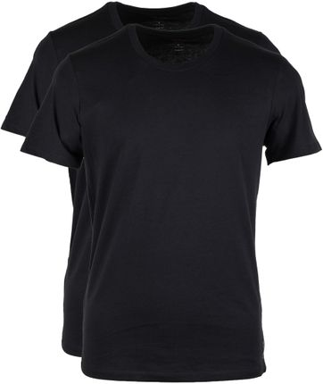 Levi's T-shirt Round Neck Black 2-Pack