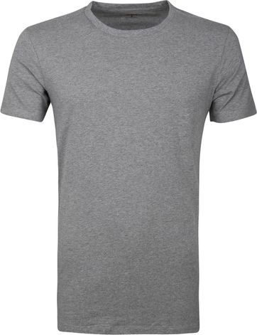 Levi's T-shirt Round Neck Grey 2Pack