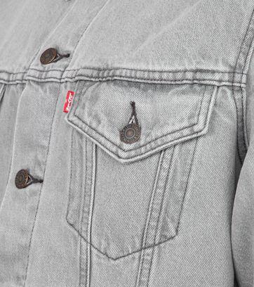 Levi's Trucker Denim Jacket Grey