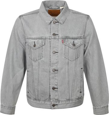 Levi's Trucker Denim Jacket Grey