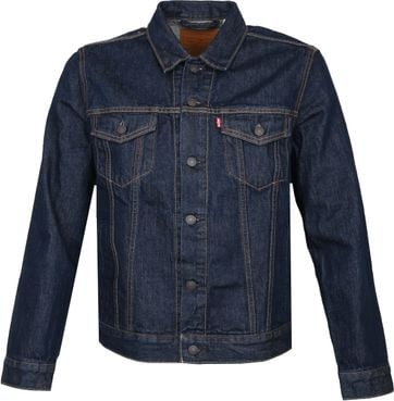 Levi's Trucker Denim Jacket Indigo Blauw