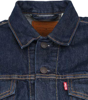 Levi's Trucker Denim Jacket Indigo Blauw