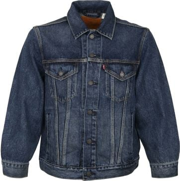 Levi's Trucker Denim Jacket Navy