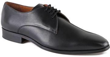 Luxus STBL Leder Herren Schuhe Schwarz