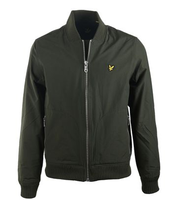 Lyle and Scott Bomberjas Donkergroen