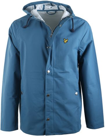 Lyle and Scott Hooded Jacke Blau