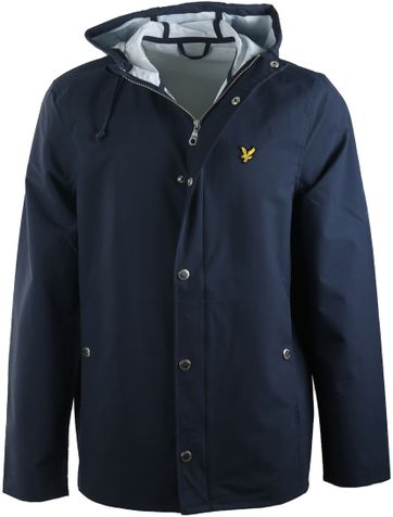 Lyle and Scott Raincoat Donkerblauw