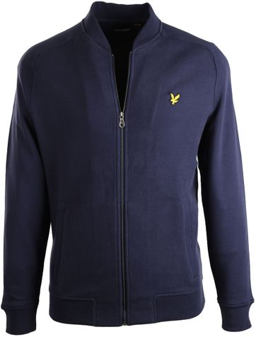 Lyle & Scott Bomber Navy