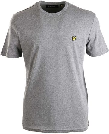 Lyle & Scott Grau T-shirt