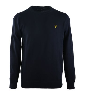 Lyle & Scott Pullover O-Neck Donkerblauw