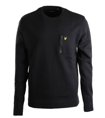 Lyle & Scott Sweatshirt Zwart