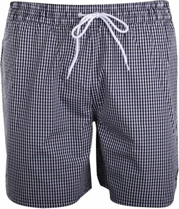 Lyle & Scott Swim Shorts Dark Blue Checkered