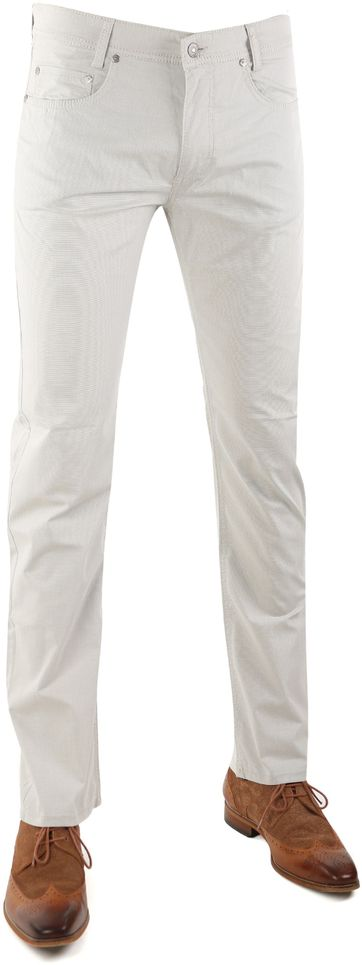 Detail Mac Broek Arne Beige Pinpoint 211
