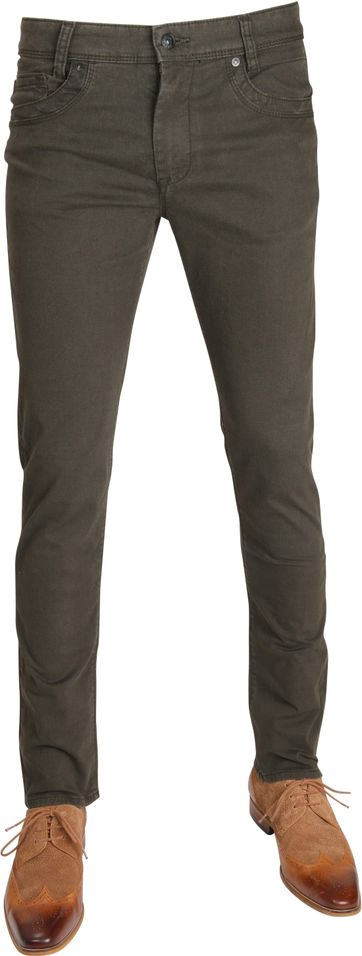 Mac Broek Arne Pipe Dessin Army