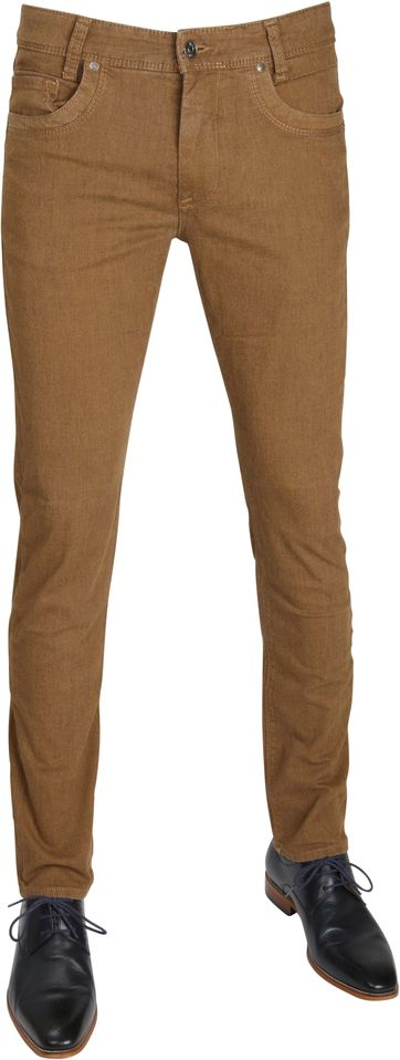 Mac Broek Arne Pipe Dessin Brown