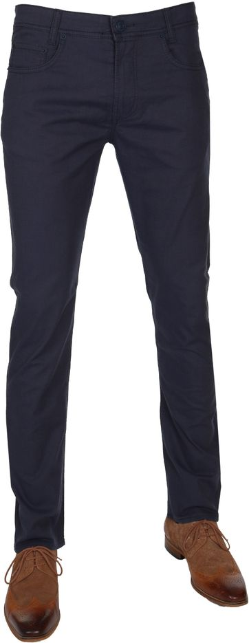Mac Broek Arne Pipe Navy