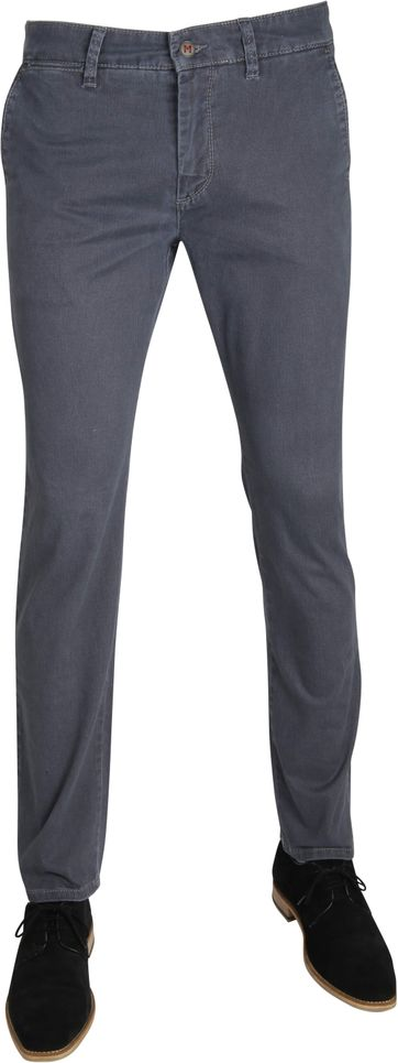 Mac Broek Lennox Modern Fit Blue Dessin