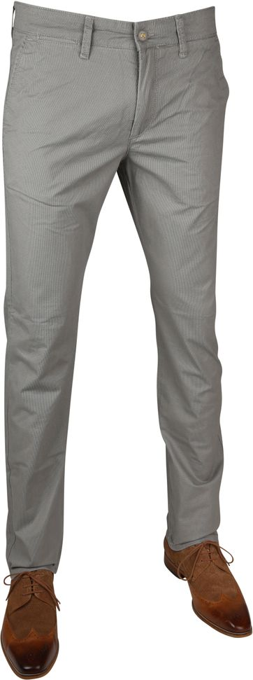Mac Chino Lennox Dessin Tin Grey