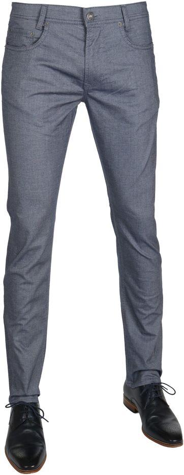 Mac Jeans Arne Modern Fit Blau Grau