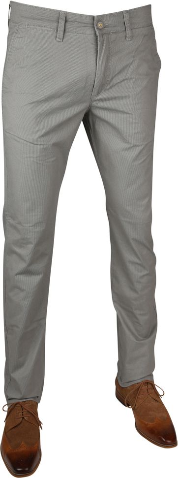 Mac Lennox Chino Dessin Tin Grey