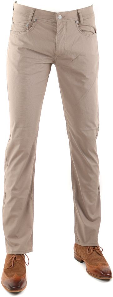 Mac Pants Arne Brown Pinpoint 346