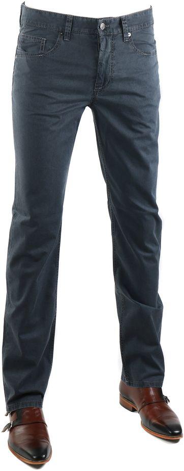 Mac Pants Arne Dark Grey 195