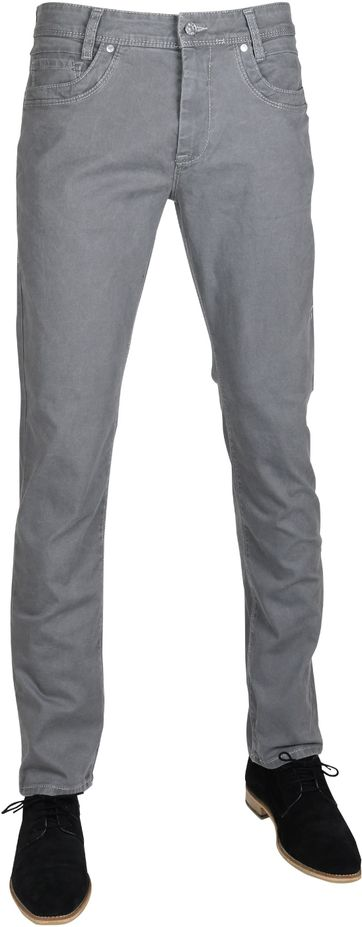 Mac Pants Arne Pipe Grey