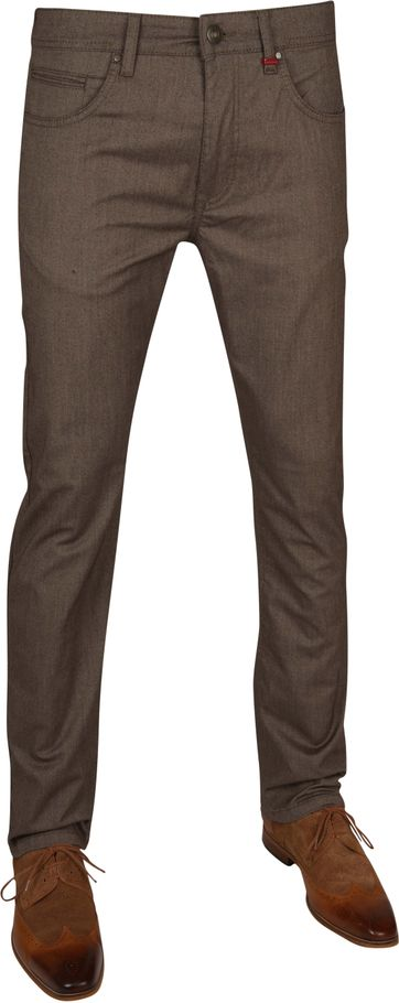 Mac Trousers Arne Pipe Terra Brown