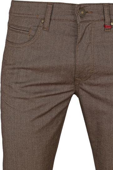 Mac Trousers Arne Pipe Terra Brown